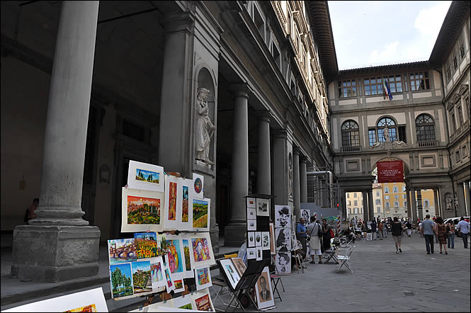 La galleria degli uffizi galerie des offices de florence - Galerie des offices florence site officiel ...