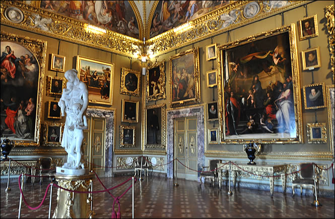 Le palazzo pitti de florence - Musee des offices florence visite virtuelle ...